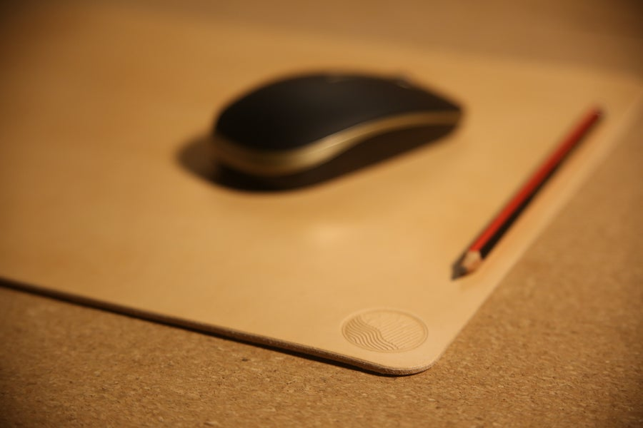 Image of Mary Grace - Top Grain Leather Desk Mat