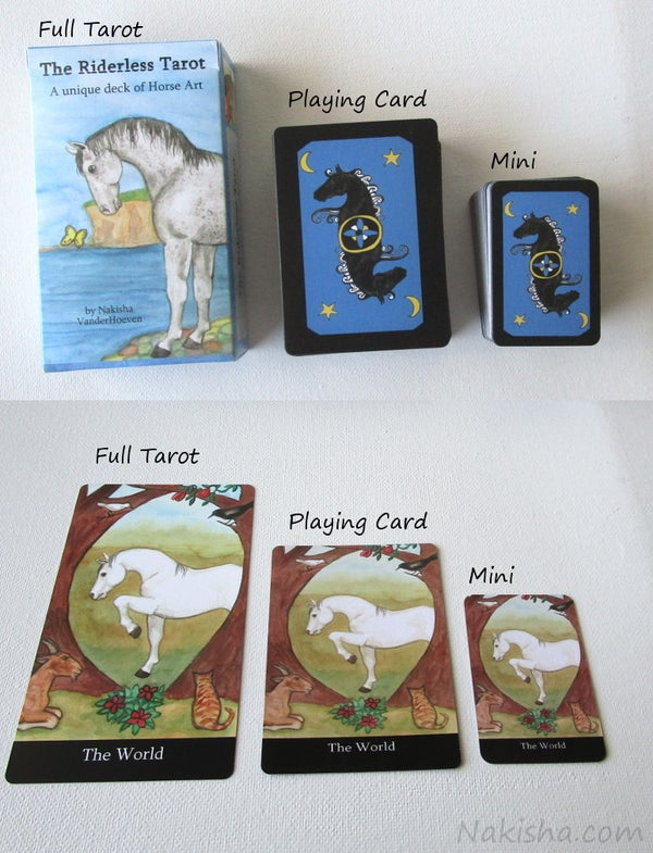 Image of The Riderless Tarot