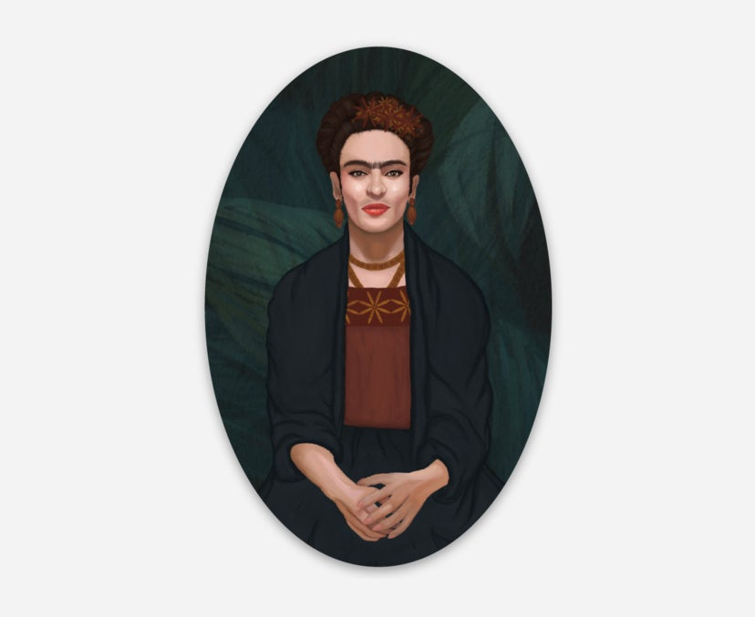 "Image of ""Frida"" Sticker"