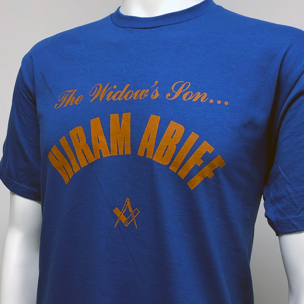 Image of Hiram Abiff - Widow's Son T-shirt
