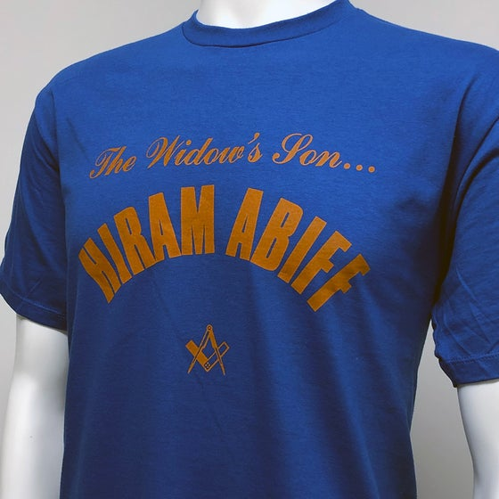 Image of Hiram Abiff - Widow's Son T-shirt