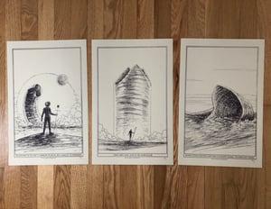 Image of Muad'dib print set