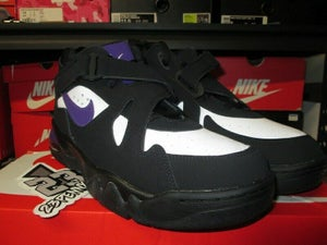 "Image of Air Force Max CB ""Black/Court Purple"""