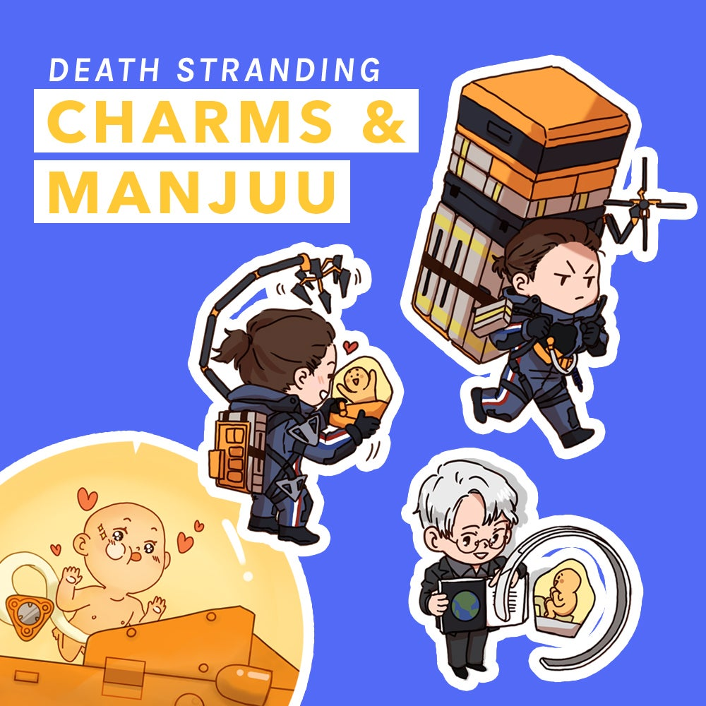 Image of Death Stranding Charms & Plush