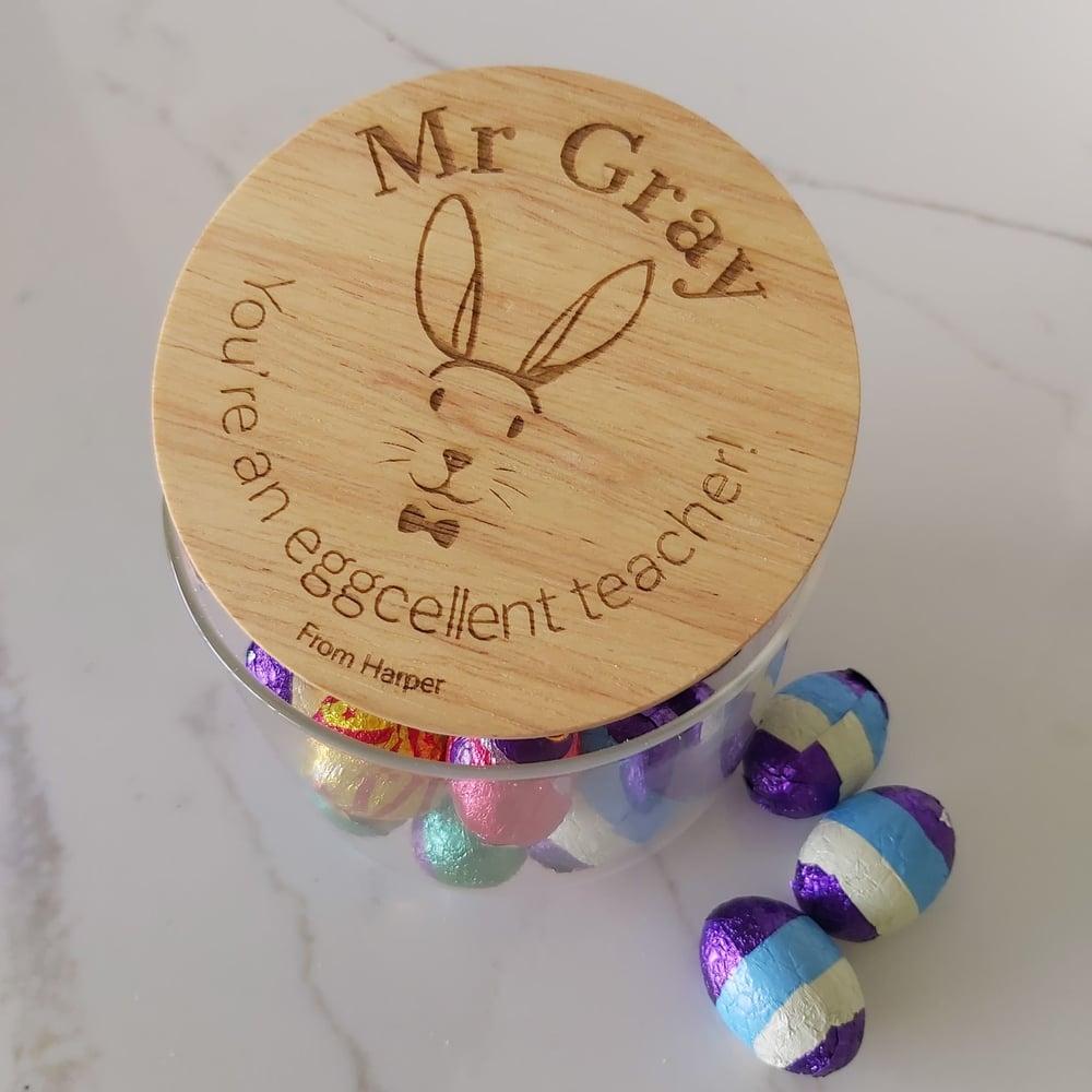 Image of Boy Bunny Jar