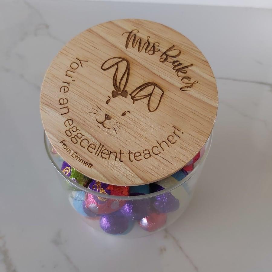 Image of Girl Bunny Jar