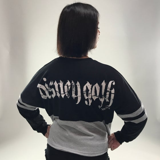 Image of Disney Goth Crop Spirit Jersey