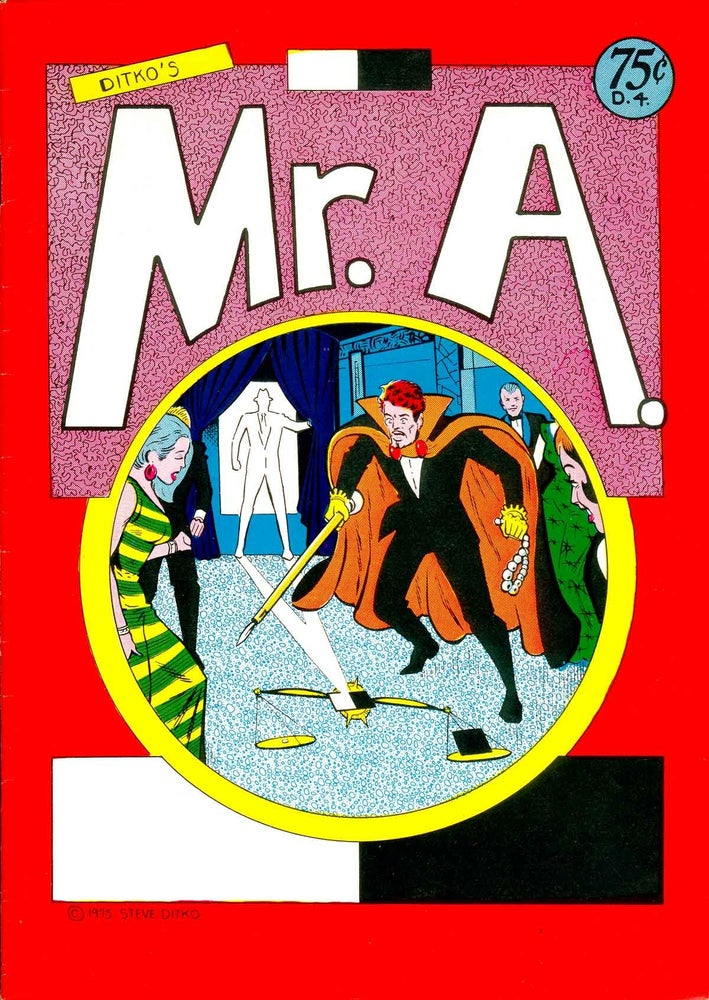 Image of Mr.A #2 by Steve Ditko