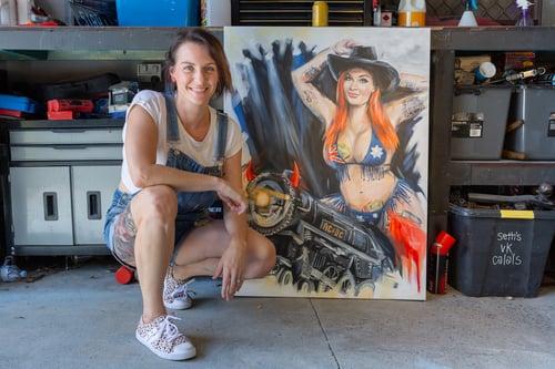 """Image of """"Rosie 20/20"""" - Original Artwork"""