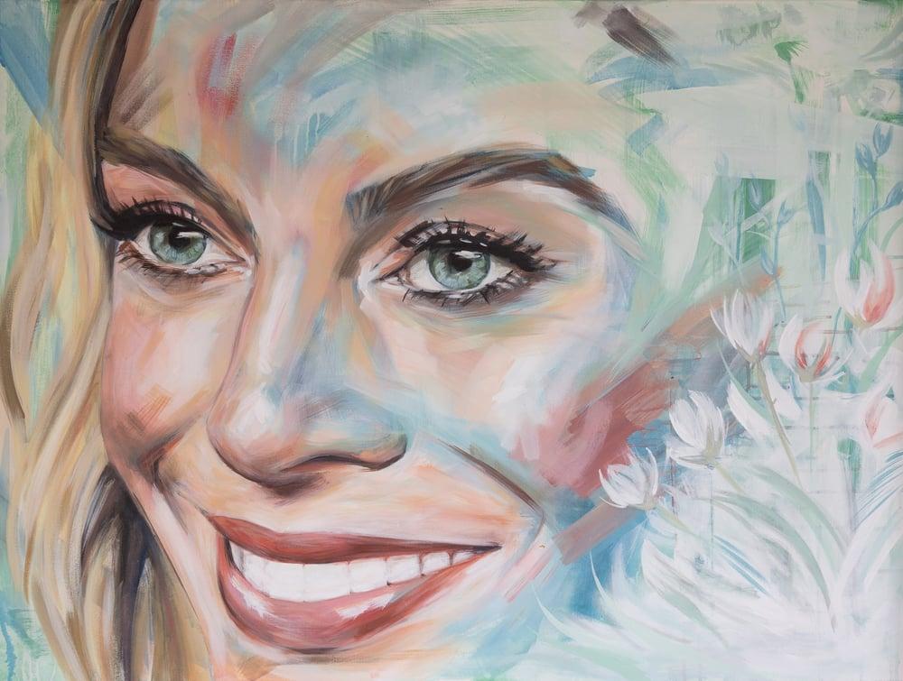 "Image of ""Margot"" - Original artwork"
