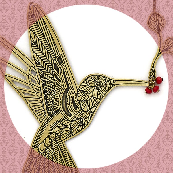 Image of L'ENVOLÉE collier colibri