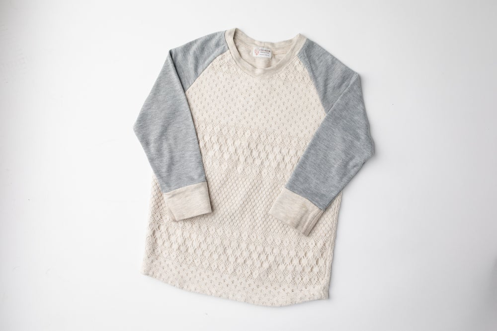 Image of Stella Lace Overlay Top