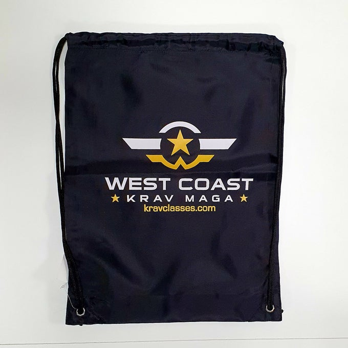 Image of West Coast Martial Arts Draw string bag