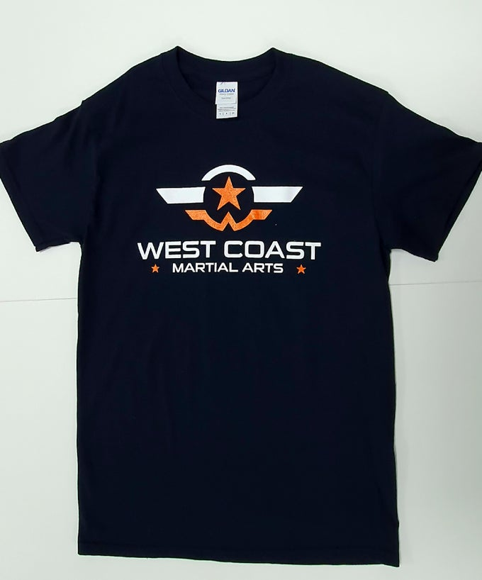 Image of West Coast Martial Arts Training T-Shirt (100% Cotton)