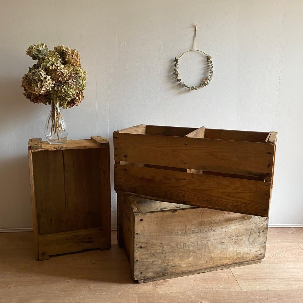 Image of Caisse en bois