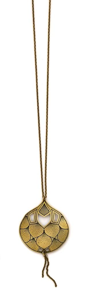 Image of EPANOUIE collier mi-long
