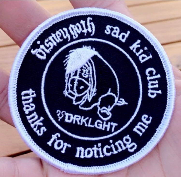 Image of Sad Kid Club Patch