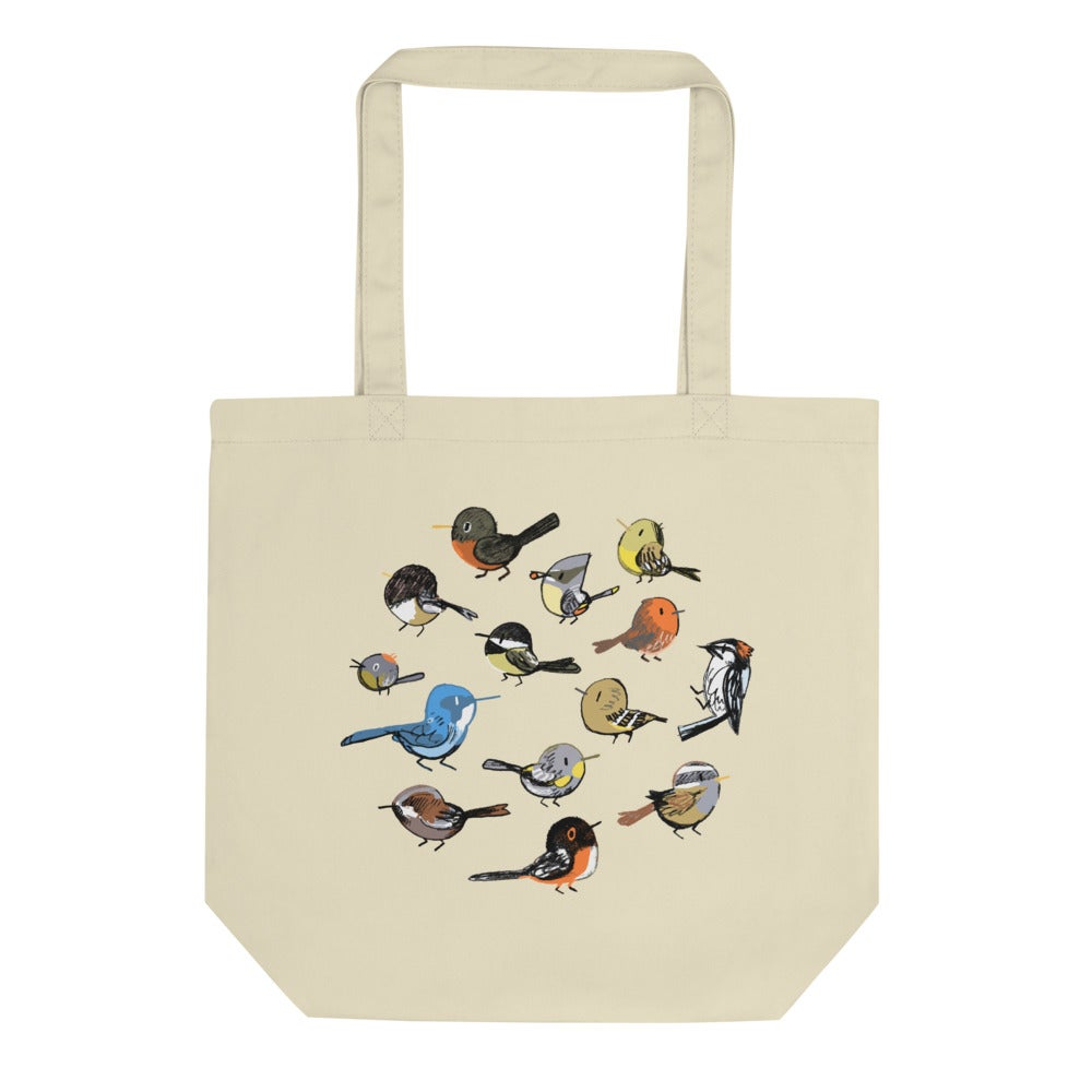 Image of Backyard Birds Tote
