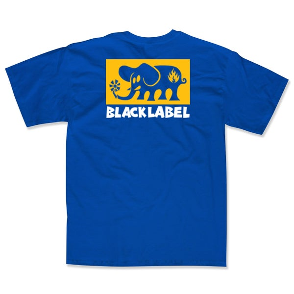 "Image of ""Elephant Block"" Royal Blue Tee"