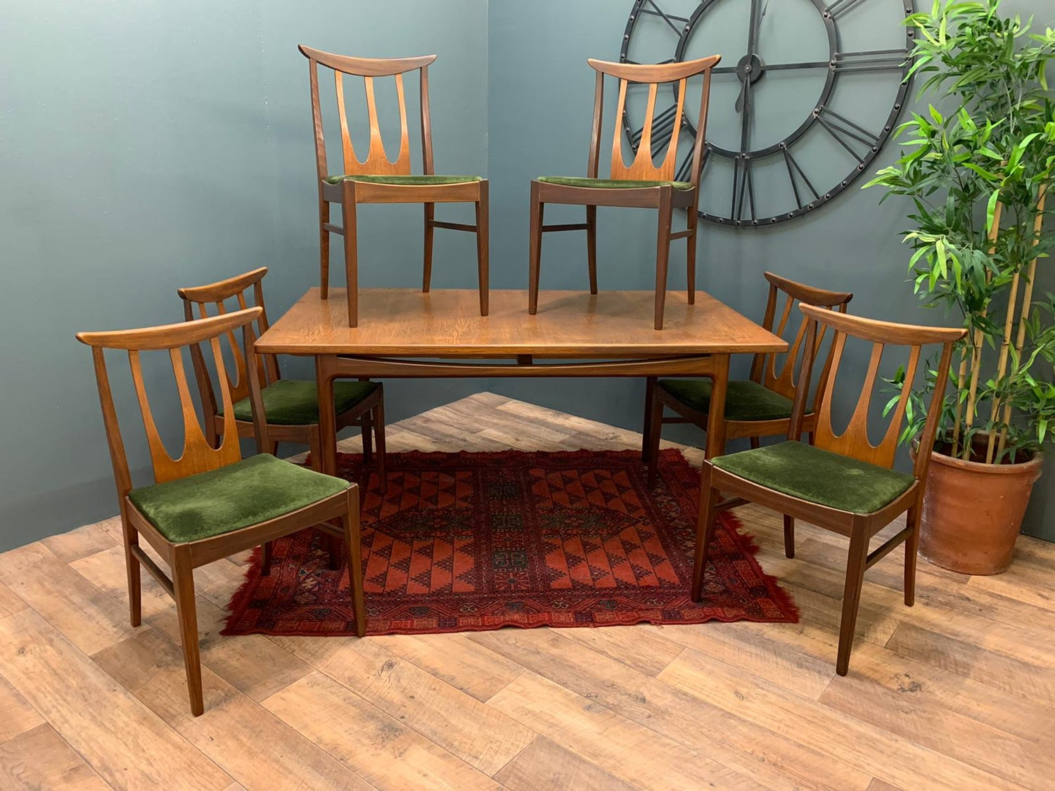 Image of Gplan dining table & Chairs