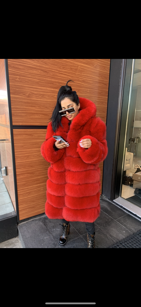 Image of 3in1 Fire Fox Fur Coat (long version)