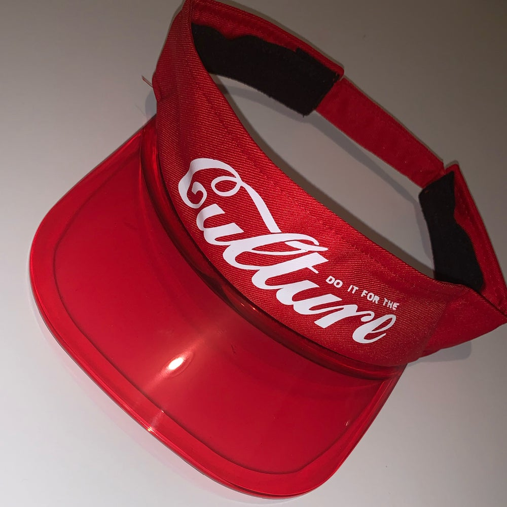 "Image of The ""For the Culture"" Visor"