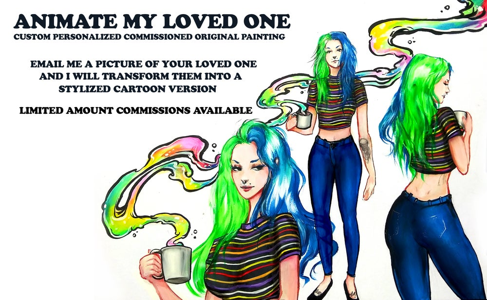 """Image of """"Animate My Loved One"""" Commission"""