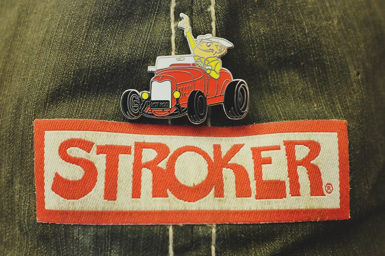 Image of NEW - Stroker McGurk Hat / Lapel Cloisonne Pins