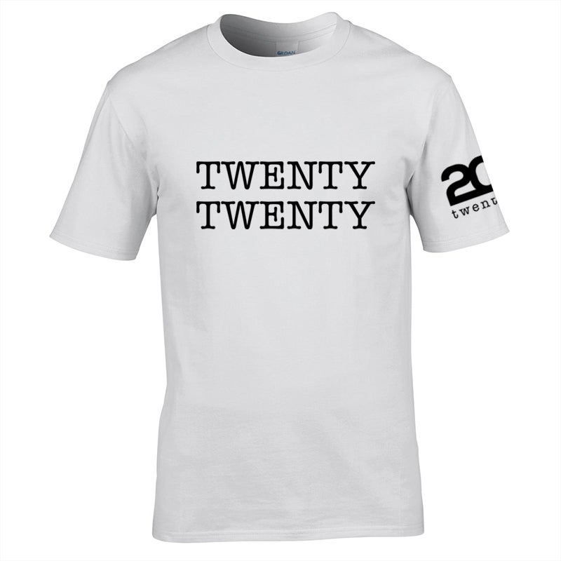 Image of Twenty Twenty White T-Shirt