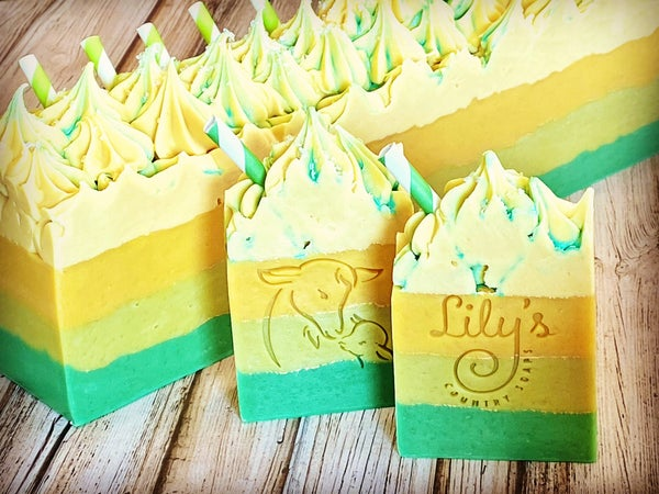 Image of Lemongrass Green Tea Goat Milk Soap