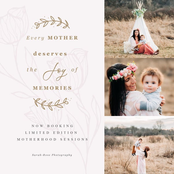 Image of Limited Edition Sunset Motherhood Sessions