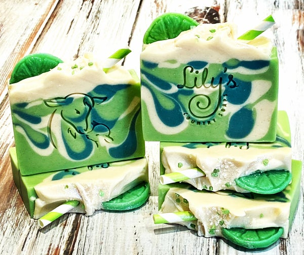 Image of Mojito Goat Milk Soap