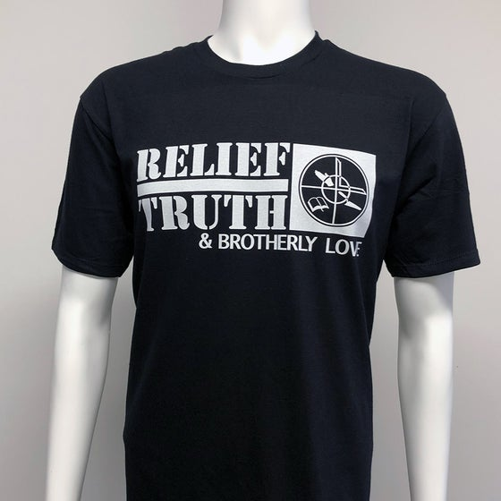 Image of RE-ISSUE - Brotherly Love, Relief, Truth.  T-shirt