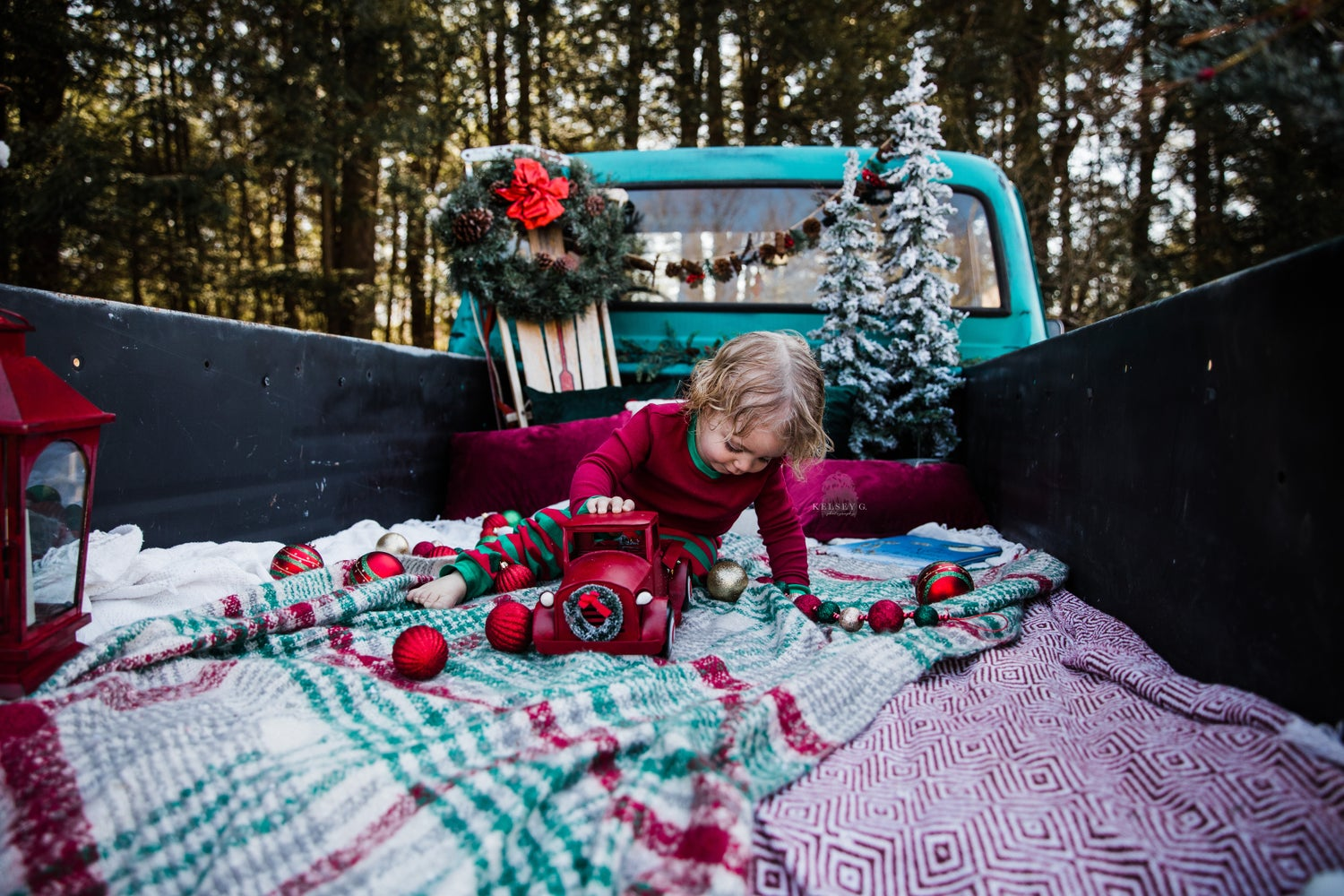 Image of Christmas Truck Minis