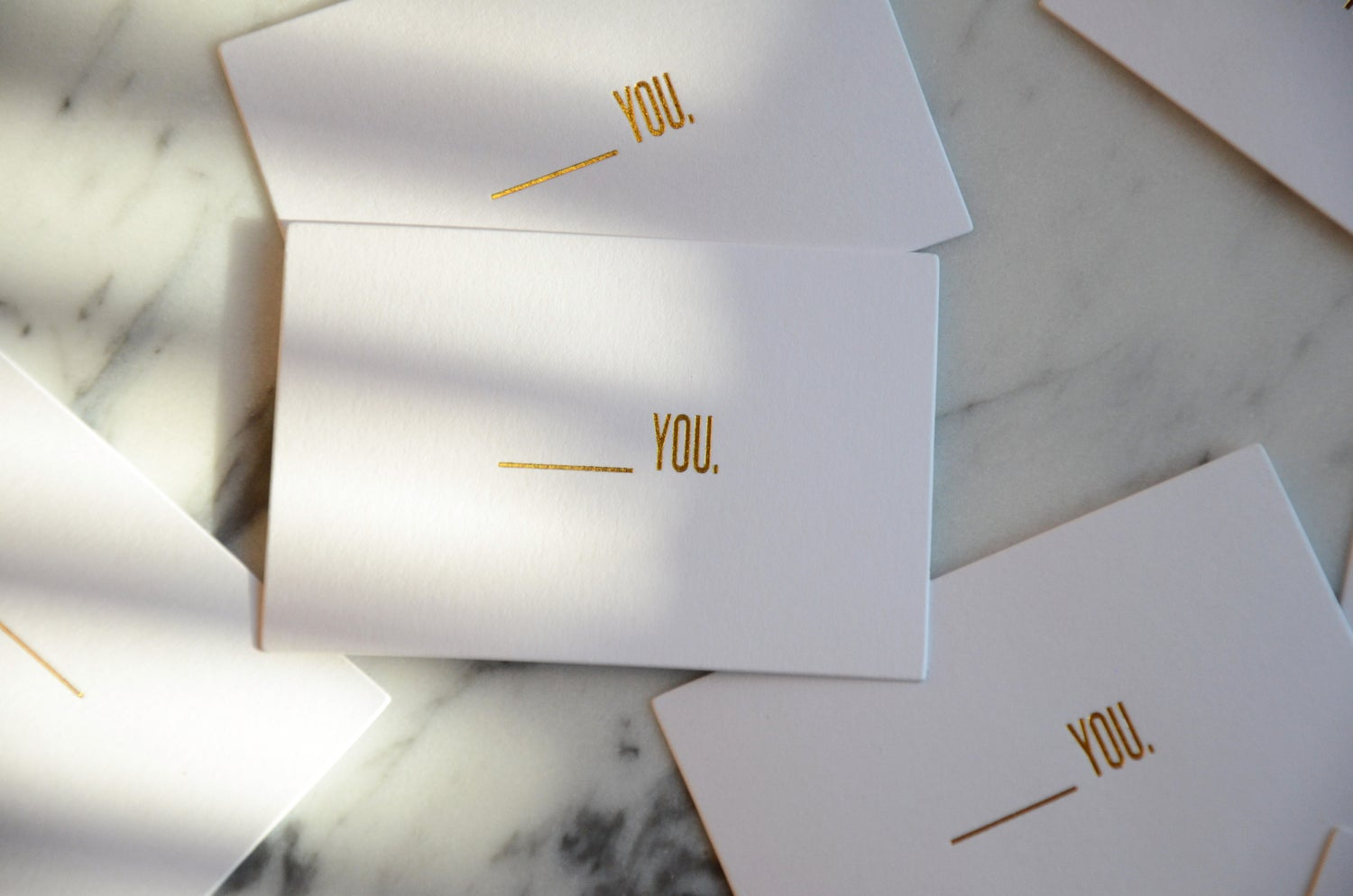 Image of Blank You Cards