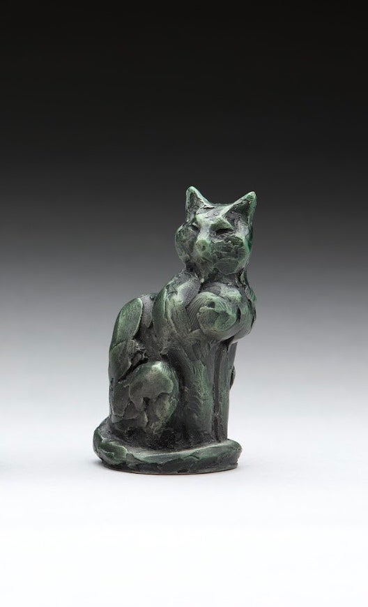 Image of Cat study verde finish