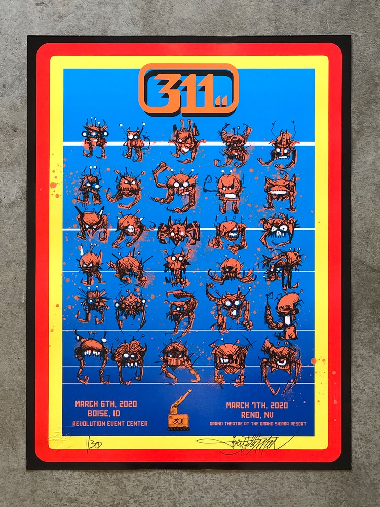 Image of 311 Boise and Reno Posters
