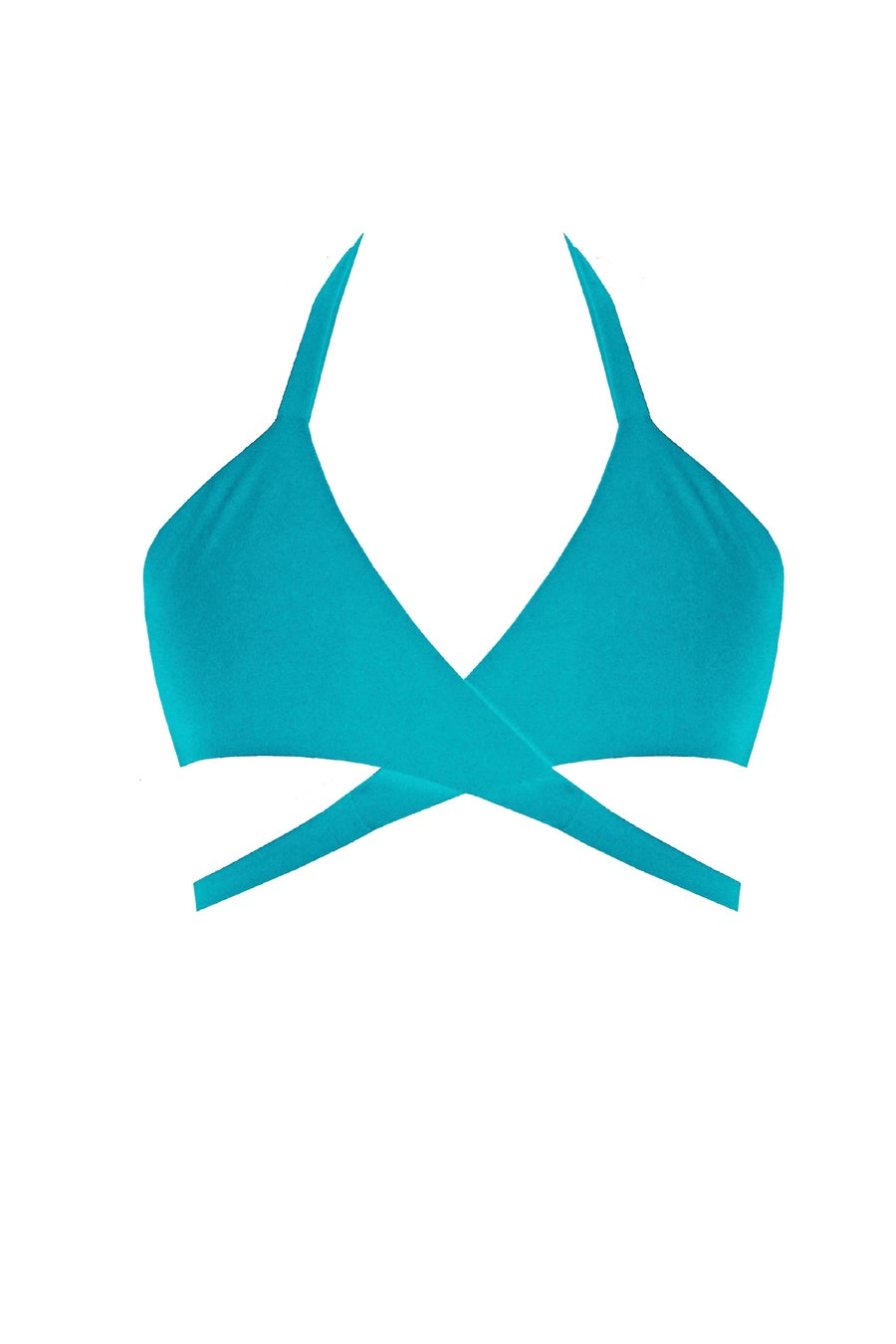Image of Candy Wrap Top - Turquoise
