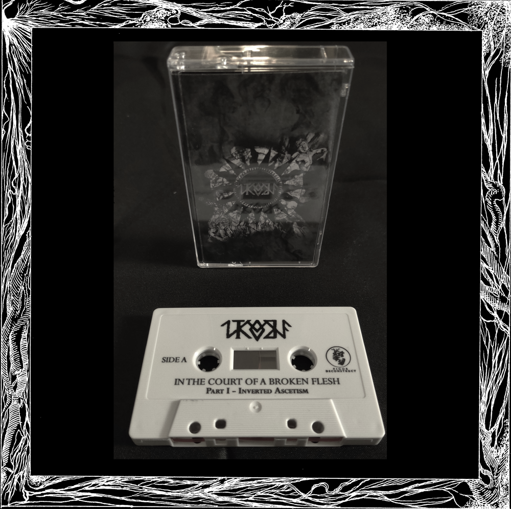 Image of In The Court of A Broken Flesh - s/t Cassette Tape