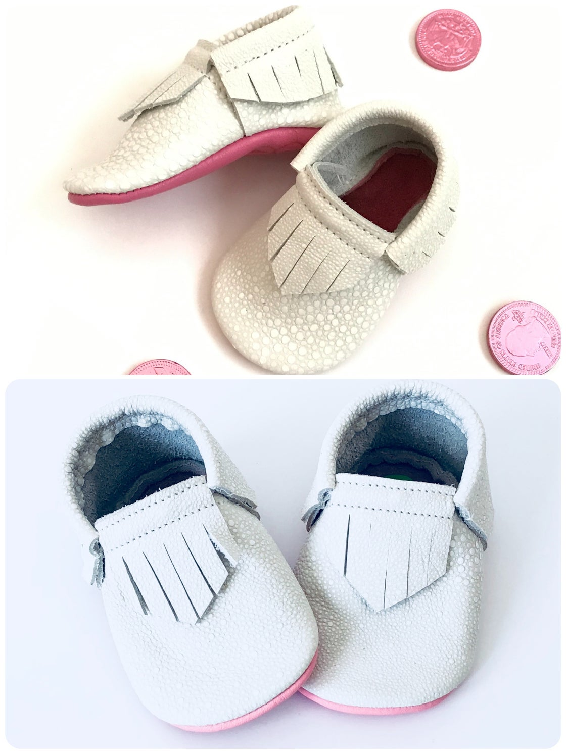 """Image of 4.5"""" soles (6-12 months)"""