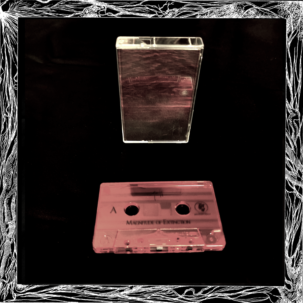 "Image of Azoth ""Magnitude of Extinction"" Cassette Tape"