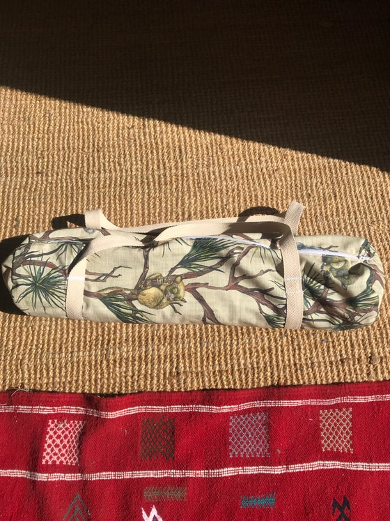 Image of Jungle Vibes Yoga Bag  ~  XL Size 72cm for Long Mats