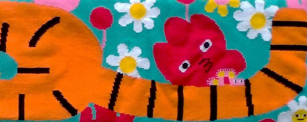 Image of 🌷 Blooming Tiger Scarf 🌷