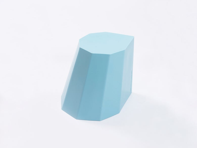 Image of Hocker Mini hellblau