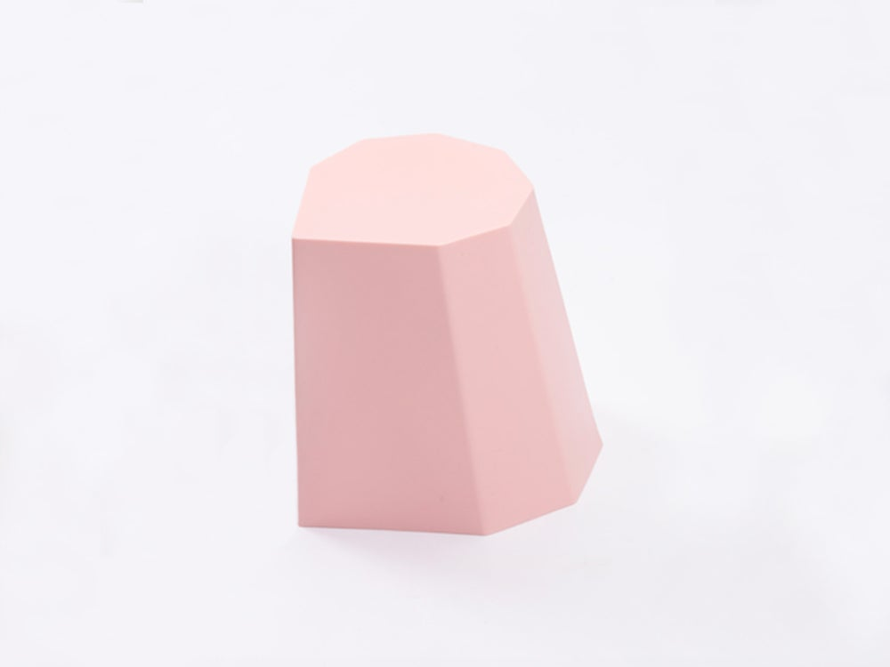 Image of Hocker Mini rosa