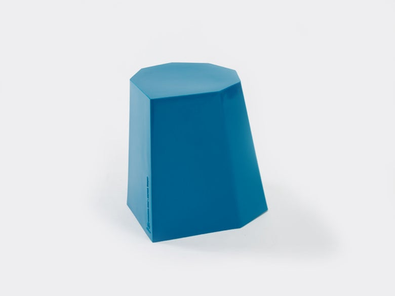Image of Hocker Mini blau