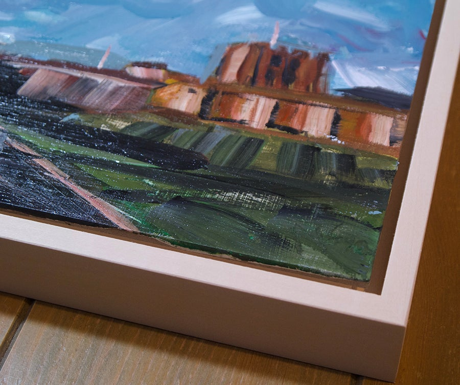 Image of Carlisle Castle Study (Framed original)