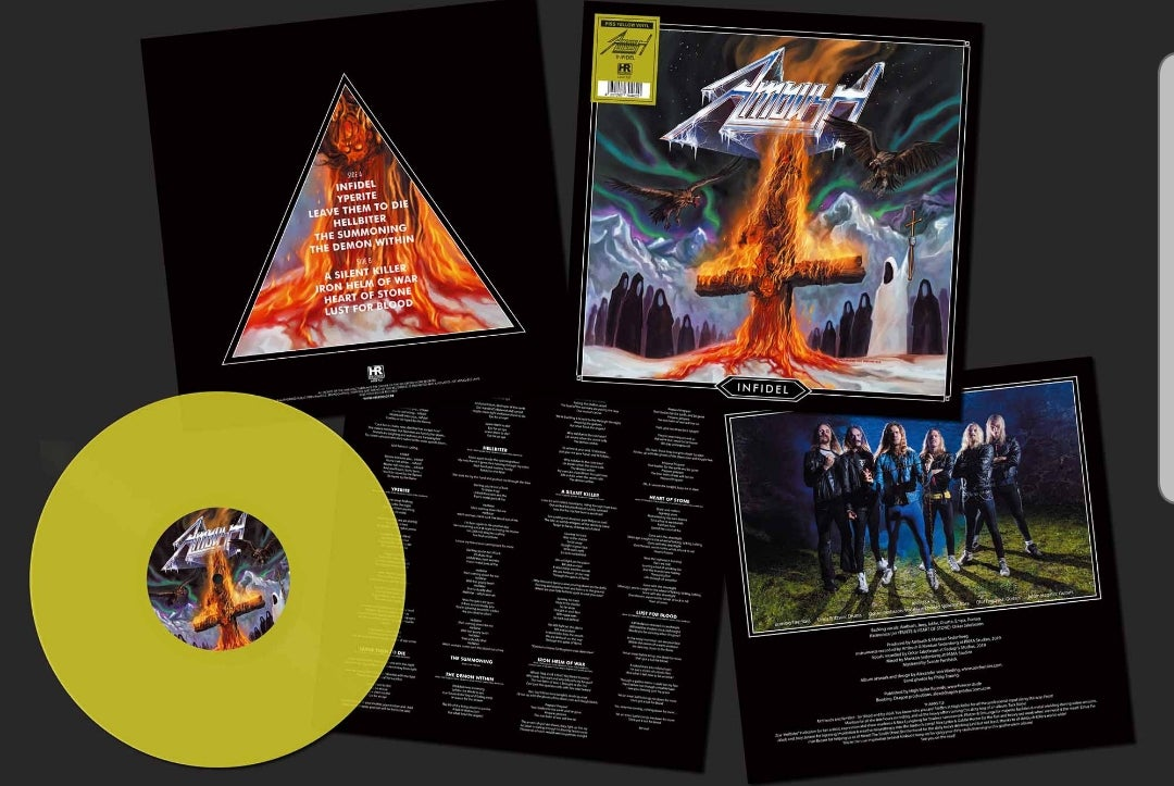 Image of Infidel - LP TRANSPARENT YELLOW