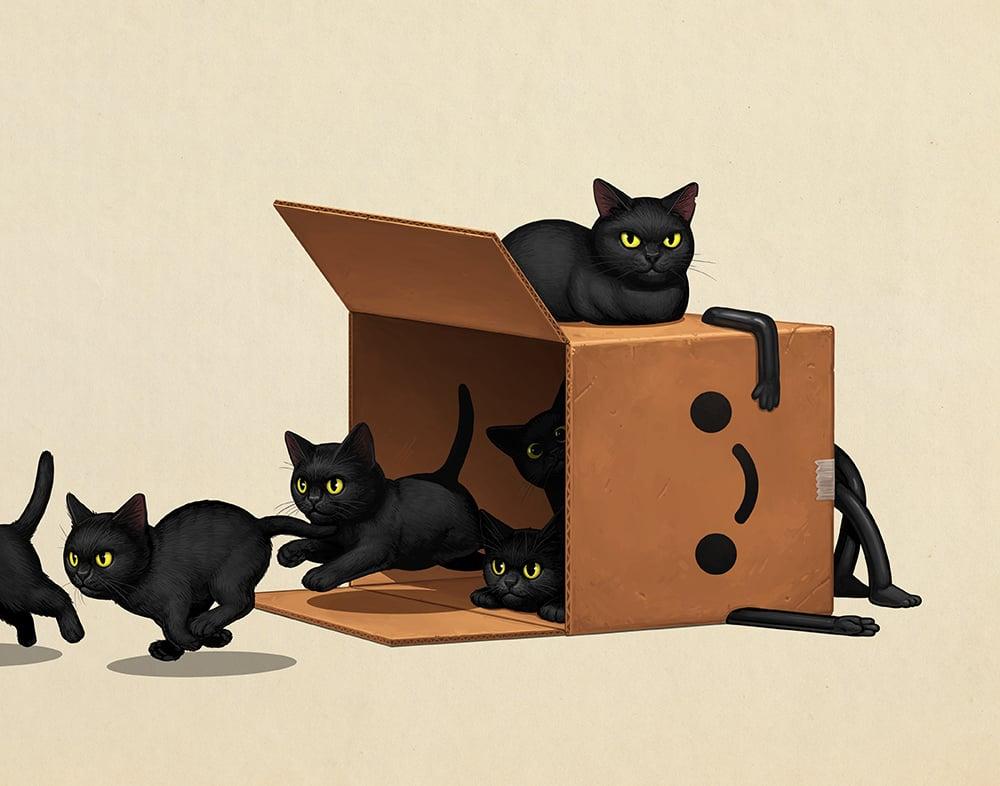 Image of Boxo II (kitties)
