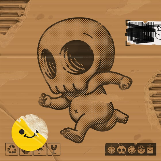 Image of Skully III (cardboard)